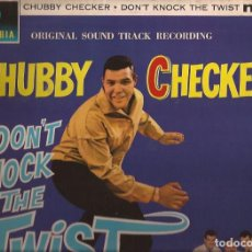 Discos de vinilo: LP-DON´T NOCK THE TWIST VARIOS COLUMBIA 1446 UK 1962 CHUBBY CHECKER THE DOVELLS DEE DEE SHARP. Lote 135483782