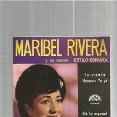 Discos de vinilo: MARIBEL RIVERA LA ESCOBA. Lote 135491686