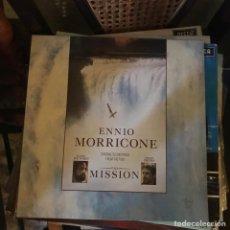 Discos de vinilo: ENNIO MORRICONE - THE MISSION. Lote 135496591