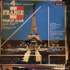 Discos de vinilo: STANLEY BLACK / FRANCE - LONDON FESTIVAL ORCHESTRA - DECCA 1976 - SIN USAR STOCK DE TIENDA. Lote 135497521