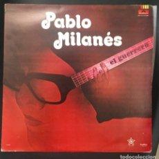 Discos de vinilo: PABLO MILANÉS - EL GUERRERO - EDICIÓN MEXICANA. Lote 135513482