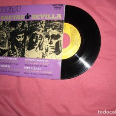 Vinyl records - SAETAS DE SEVILLA-MANOLO CARACOL + JOSE MENESE + ANTONIO MAIRENA + PEPE CULATA EP 1972 - 135518990