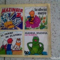 Discos de vinilo: SINGLE DE SERIES DELOS 70 Y 80S , MAZINGER Z , LA ABEJA MAYA, LOS TELEÑECOS. Lote 135522826