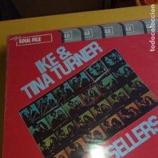 Discos de vinilo - LP IKE & TINA TURNER - 135525958