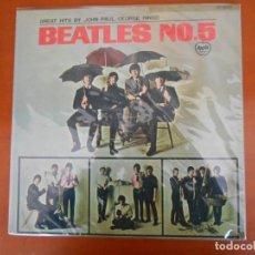 Discos de vinilo: F-829- LP VINILO THE BEATLES Nº 5. EDICIÓN JAPONESA.. Lote 135527070