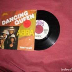 Discos de vinilo: ABBA. DANCING QUEEN. SINGLE EDICION FRANCESA. Lote 135532922