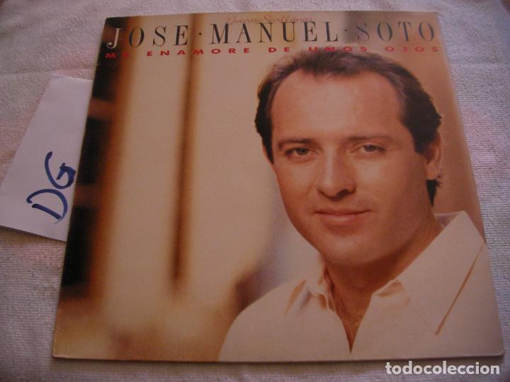 ANTIGUO DISCO LP VINILO - JOSE MANUEL SOTO (Música - Discos - LP Vinilo - Otros estilos)