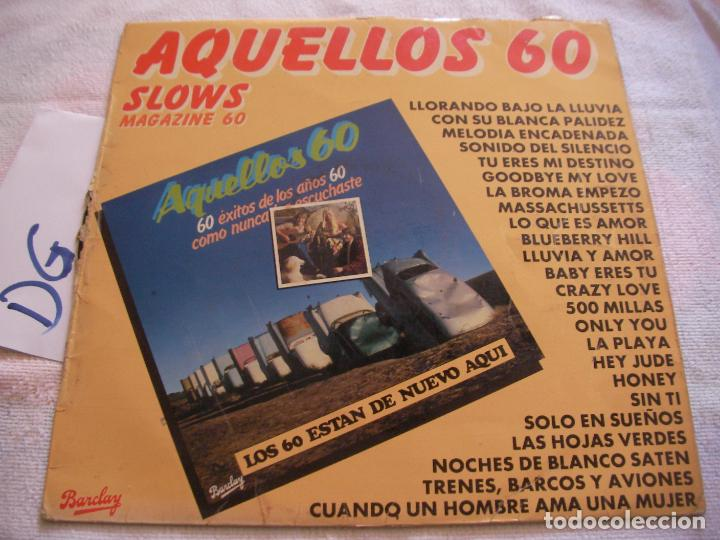 ANTIGUO DISCO LP VINILO - AQUELLOS 60 (Música - Discos - LP Vinilo - Otros estilos)