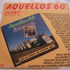 Discos de vinilo: ANTIGUO DISCO LP VINILO - AQUELLOS 60. Lote 135533730