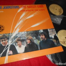 Discos de vinilo: THE JOHNSTONS THE BARLEY CORN&COLOURS OF THE DAWN 2LP 1979 GATEFOLD EDICION ESPAÑOLA SPAIN. Lote 135534106