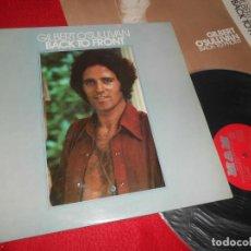 Discos de vinilo: GILBERT O'SULLIVAN BACK TO FRONT LP 1972 MAM EDICION ESPAÑOLA SPAIN + POSTER+LIBRETO. Lote 135535498