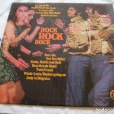 Discos de vinilo: ANTIGUO DISCO LP VINILO - ROCK ROCK ROCK. Lote 135535530