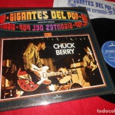 Discos de vinilo: CHUCK BERRY GIGANTES DEL POP VOL.51 LP 1981 MERCURY EDICION ESPAÑOLA SPAIN. Lote 135535938