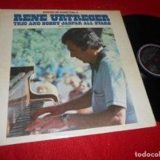 Discos de vinilo: RENE URTREGER TRIO & BOBBY JASPAR ALL STARS 1955-1956 HOUSE OF JAZZ VOL.4 LP 1980 ED.ESPAÑOLA SPAIN. Lote 135537058