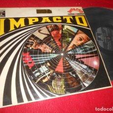 Discos de vinilo: IMPACTO LP 1969 EMI-ODEON EDICION ESPAÑOLA SPAIN RECOPILATORIO JACK EMBLOW+FRANCK POURCEL+ETC. Lote 135539550