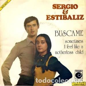 SERGIO Y ESTIBALIZ – BUSCAME (ESPAÑA, 1973) (Música - Discos - Singles Vinilo - Grupos Españoles de los 70 y 80)
