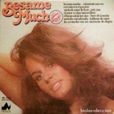 Discos de vinilo: THE SESSION ORCHESTRA – BESAME MUCHO (ESPAÑA, 1976). Lote 135540890