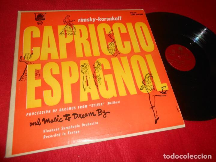 VIENNESE SYMPHONIC ORCHESTRA RIMSKY-KORSAKOFF CAPRICCIO ESPAGNOL.. LP PLYMOUTH EDICION AMERICANA USA (Música - Discos - LP Vinilo - Orquestas)