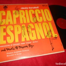 Discos de vinilo: VIENNESE SYMPHONIC ORCHESTRA RIMSKY-KORSAKOFF CAPRICCIO ESPAGNOL.. LP PLYMOUTH EDICION AMERICANA USA. Lote 135541270
