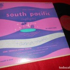 Discos de vinilo: VIENNESE TONKUNSTLER SYMPHONIC ORCHESTRA SOUTH PACIFIC.... LP PLYMOUTH EDICION AMERICANA USA. Lote 135541346