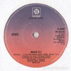 Discos de vinilo: SPACE – MAGIC FLY (UK, 1977). Lote 135542938
