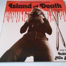 Discos de vinilo: ISLAND OF DEATH DE NICO MASTORAKIS, SG, DESTINATION UNDERSTANDING + 1, AÑO 2017 MADE IN ENGLAND ??. Lote 135549026