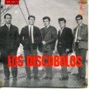 Discos de vinilo: LOS DISCOBOLOS / UNDER THE BOARDWALK / ERES TU MI SENTIMIENTO + 2 (EP 1965). Lote 135554402