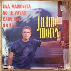 Discos de vinilo: JAIME MOREY EP PHILIPS AÑO 1965. Lote 135572550