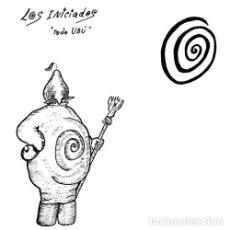 Discos de vinilo: LP LOS INICIADOS TODO UBÚ VINILO MOVIDA SYNTH AVIADOR DRO. Lote 135833275