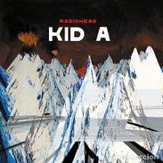 Discos de vinilo: 2LP RADIOHEAD KID A VINILO BRIT POP INDIE ROCK. Lote 150093905