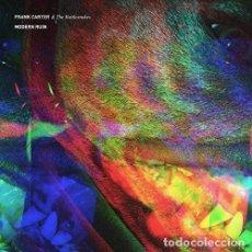 Discos de vinilo: LP FRAN CARTER & THE RATTLESNAKES MODERN RUIN VINILO LIMITADO ROJO Y BLANCO PUNK. Lote 135576382