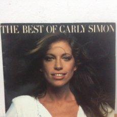 Disques de vinyle: LP CARLY SIMON-THE BEST OF. Lote 135577827