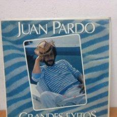 Discos de vinilo: JUAN PARDO LP GRANDES EXITOS - MADE IN SPAIN. 1981. Lote 135579022