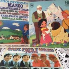 Discos de vinilo: LOTE VINILOS INFANTIL HEIDI MARCO..... Lote 135579238