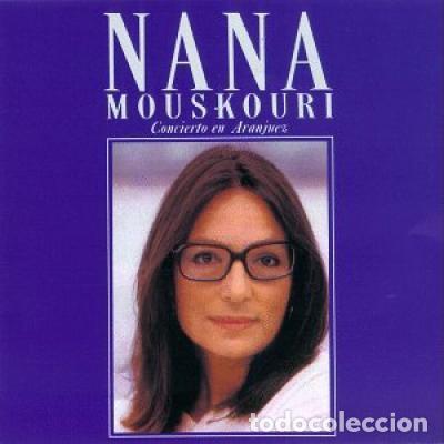 NANA MOUSKOURI – CONCIERTO EN ARANJUEZ - DOUBLE 2X LP VINYL 1989 SPAIN ED. (Música - Discos - LP Vinilo - Country y Folk)