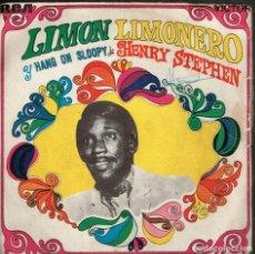 Discos de vinilo: HENRY STEPHEN. LIMON LIMONERO 3-10347 RCA 1968. Lote 135590498
