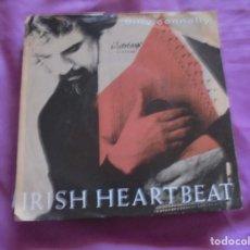 Discos de vinilo: BILLY CONNOLLY. IRISH HEARTBEAT / UNDER PRESSURE. DOVER, 1990. EDC. INGLESA.. Lote 135592050