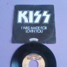 Discos de vinilo: KISS - I WAS MADE FOR LOVIN YOU / HARD TIMES (45 RPM) SELLO CASABLANCA 61 75 014. AÑO 1979. Lote 135594918