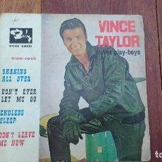 Discos de vinilo: EP A 45 RPM DEL CANTANTE BRITANICO DE ROCK AND ROLL, VINCE TAYLOR ET SES PLAY-BOYS. Lote 135604154