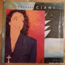 Disques de vinyle: SUZANNE CIANI - HISTORY OF MY HEART - LP - 1989. Lote 135605590