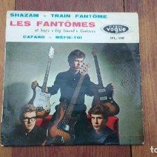 Discos de vinilo: EP A 45 RPM DEL GRUPO FRANCES DE ROCK AND ROLL, LES FANTOMES. Lote 135606258