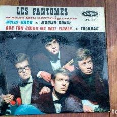 Discos de vinilo: EP A 45 RPM DEL GRUPO INSTRUMENTAL FRANCES DE ROCK AND ROLL, LES FANTOMES. Lote 135607470