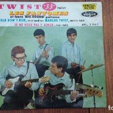 Discos de vinilo: EP A 45 RPM DEL GRUPO INSTRUMENTAL FRANCES DE ROCK AND ROLL, LES FANTOMES. Lote 135608046