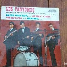 Discos de vinilo: EP A 45 RPM DEL GRUPO INSTRUMENTAL FRANCES DE ROCK AND ROLL, LES FANTOMES. Lote 135608462