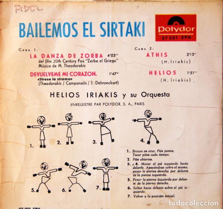 Discos de vinilo: H3 BANDA SONORA ZORBA/THEODORAKIS+BEATLES+GOLDFINGER+LAWRENCE+CHERBURGO-POLYDOR/UNITED ARTIST 1960s - Foto 2 - 135614974