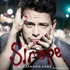 Discos de vinilo: VINILO FIRMADO SIROPE ALEJANDRO SANZ. Lote 135615622