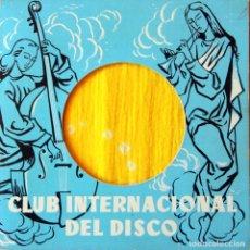 Discos de vinilo: H5 2 EP CLUB INTERNACIONAL DEL DISCO 1959: VALSES, MENDELSSOHN, BIZET…. Lote 135615918