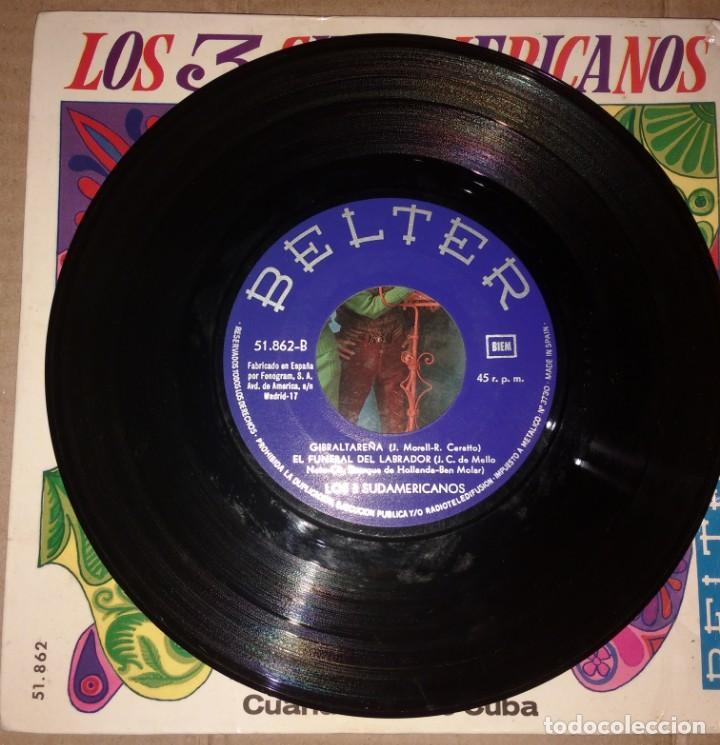 Discos de vinilo: LOS 3 SUDAMERICANOS - PULPA DE TAMARINDO+3 - Foto 2 - 202482247