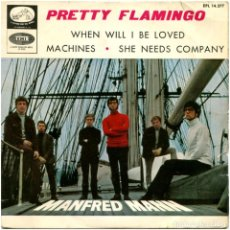 Discos de vinilo: MANFRED MANN – PRETTY FLAMINGO - EP SPAIN 1966 - LA VOZ DE SU AMO EPL 14.277. Lote 135624118