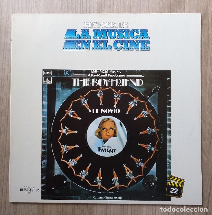 MUSICA, LP, LP´S, DISCO VINILO, THE BOY FRIEND, EL NOVIO, TWIGGY, BANDA SONORA, CINE (Música - Discos - LP Vinilo - Bandas Sonoras y Música de Actores )